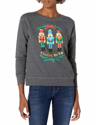 Hanes Women's Ugly Christmas Sweater-Crackin Me Up