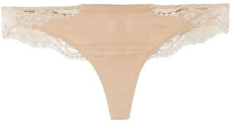 La Perla Souple lace brazilian thongs