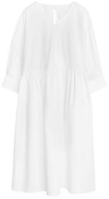 Arket Wide Poplin Dress