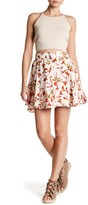 Lovers + Friends Fountain Floral Print Skirt