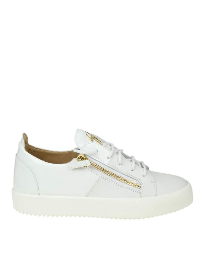 Giuseppe Zanotti Sneakers May London In White Leather
