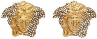 Versace Gold Palazzo Dia Earrings
