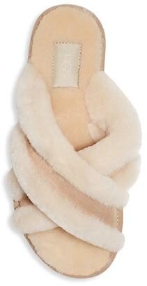 UGG Scuffita Dyed Sheepskin Slippers