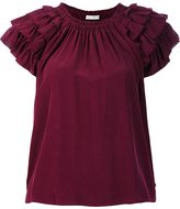 Ulla Johnson ruffled detail T-shirt