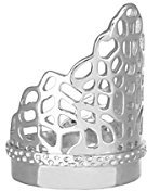 Kendra Scott Modern Point Paige Filigree Ring in Rhodium Size 8
