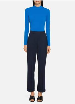St. John Nuda Jersey Turtleneck Top