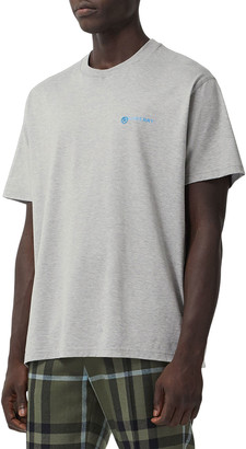 Burberry Men's Don't Believe Everything You Think T-Shirt