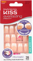 Kiss Everlasting French Nails Kit, Medium Length Wedding Dress