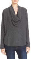 Joie Women's Mikkelin Wool & Cashmere Drape Neck Sweater