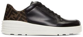 Fendi Black Forever Low-Top Sneakers