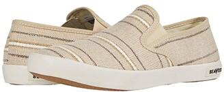 SeaVees Baja Slip-On Raffia Stripe (Natural) Men's Shoes