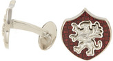 David Donahue Sterling Silver Griffin Wine Cuff Links