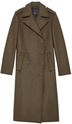 Theory Sargent Recycled Wool Coat