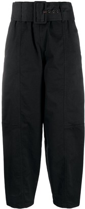 See by Chloe High Waist Belted Trousers