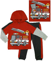 Asstd National Brand Novelty 2-pc. Red Long-Sleeve Pullover and Pants Set - Toddler Boys 2t-4t