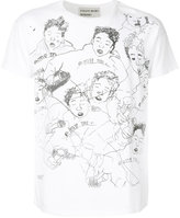 Enfants Riches Deprimes illustration print T-shirt