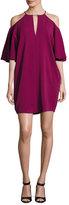 Rachel Zoe Andrea Cady Cold-Shoulder Dress, Purple
