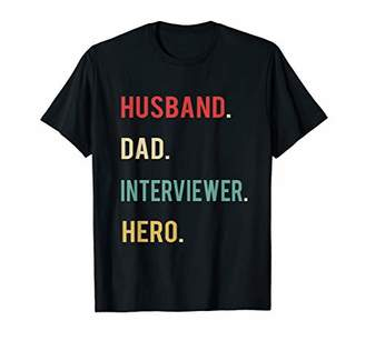 Husband Dad Interviewer Hero Christmas Day Birthday Gift