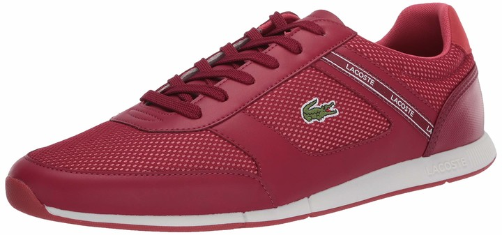 Lacoste Dark Red Shoes | Shop the world