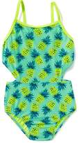 Old Navy Patterned Cut-Out Swimsuit for Girls