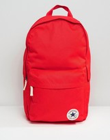 Converse Core Patch Backpack In Red