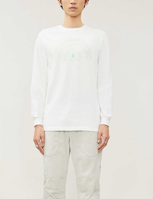 Daniel Arsham Compass graphic-pattern cotton-jersey T-shirt