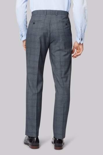 Moss Esq. Regular Fit Vintage Check Pants
