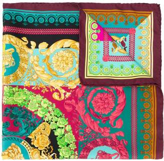 Versace graphic print scarf