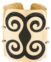 Ben-Amun Ben Amun Carved Wide Link Bracelet