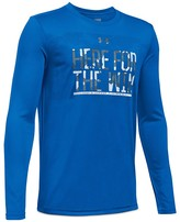 Under Armour Boys' Here For the Win Performance Tee - S-XL