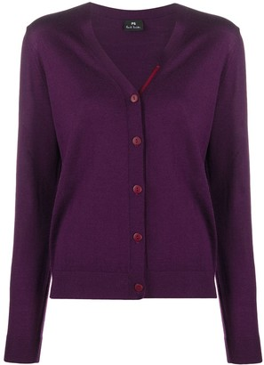 Paul Smith Button-Up Wool Cardigan