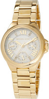 MICHAEL Michael Kors 33mm Camille Chronograph Bracelet Watch, Gold