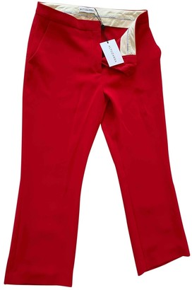 Altuzarra Red Synthetic Trousers