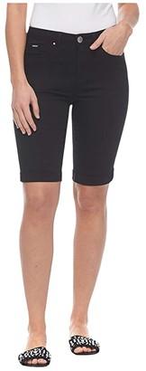 FDJ French Dressing Jeans Sunset Hues Denim Olivia Bermuda in Black (Black) Women's Jeans