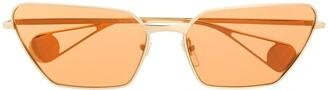 Gucci Angled Cat-Eye Sunglasses