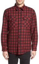 Pendleton Men's Quilt Lined Cpo Wool Shirt