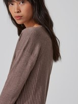 Frank and Oak Wool-Cashmere-Blend Sweater in Cafe Creme