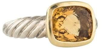 David Yurman Citrine Noblesse Cable Ring