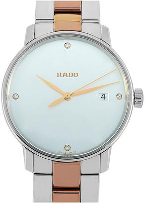 Rado Unisex Stainless Steel Watch