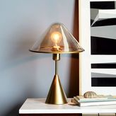 Tinted Glass Task Table Lamp