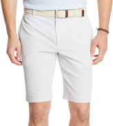 Izod Corded Stripe Flat-Front Shorts