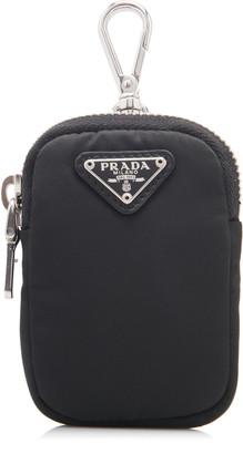 Prada Logo-Detailed Nylon Pouch