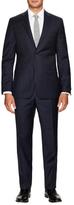 Ike Behar Tonal Plaid Suit