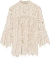 Anna Sui Romantique guipure lace top