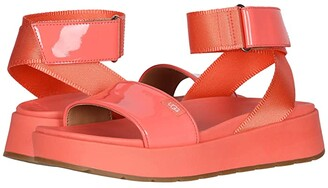 UGG Lennox (Pop Coral) Women's Sandals