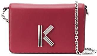 Kenzo logo plaque cross body bag