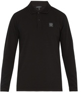 Belstaff Selbourne long-sleeved cotton-piqué polo shirt