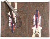 Etro rocket clutch bag