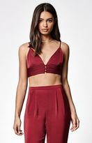 KENDALL + KYLIE Kendall & Kylie Button-Front Bralette