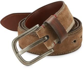 Saks Fifth Avenue Suede & Leather Belt